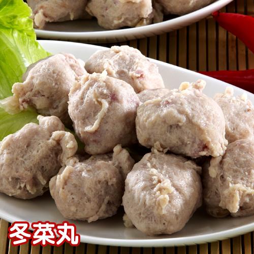 史家庄★冬菜丸(300g)-魚丸、火鍋料、過年團圓菜火鍋推薦