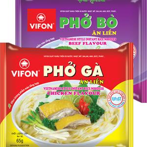 VIFON 越南河粉 雞肉粉/牛肉粉 沖泡即食 [VI004]