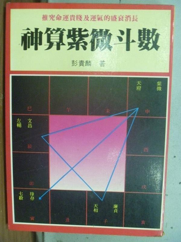 【書寶二手書T2/命理_HNC】神算紫微斗數_彭貴麟