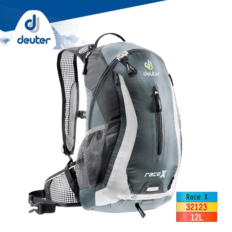 deuter Race X 12L 自行車背包32123 / 城市綠洲 (德國 後背包 運動休閒背包)