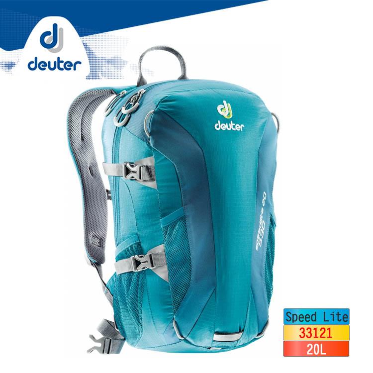 deuter 超輕量背包 20L Speed Lite 33121/城市綠洲(德國登山背包)