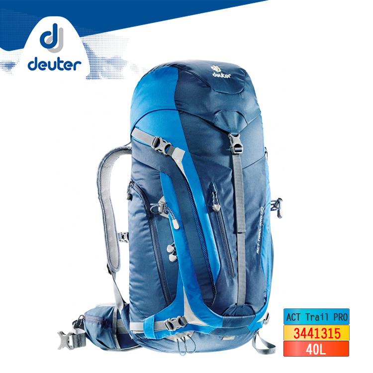 deuter ACT Trail PRO 40L拔熱透氣背包3441315 ︱40L / 城市綠洲 (登山背包 戶外休閒 運動旅遊 德國品牌)