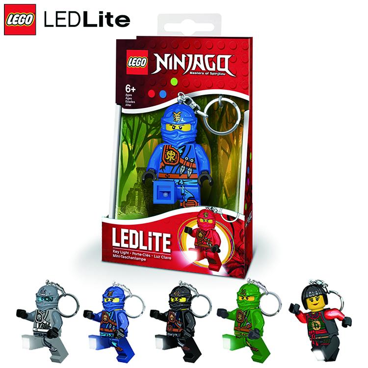 LEGO Ninjago忍者鑰匙圈LGL-KE77、LGL-KE78 / 城市綠洲(樂高 / 旋風忍者 / 趣味造型 / 隨身可攜帶 / LED照明燈 )
