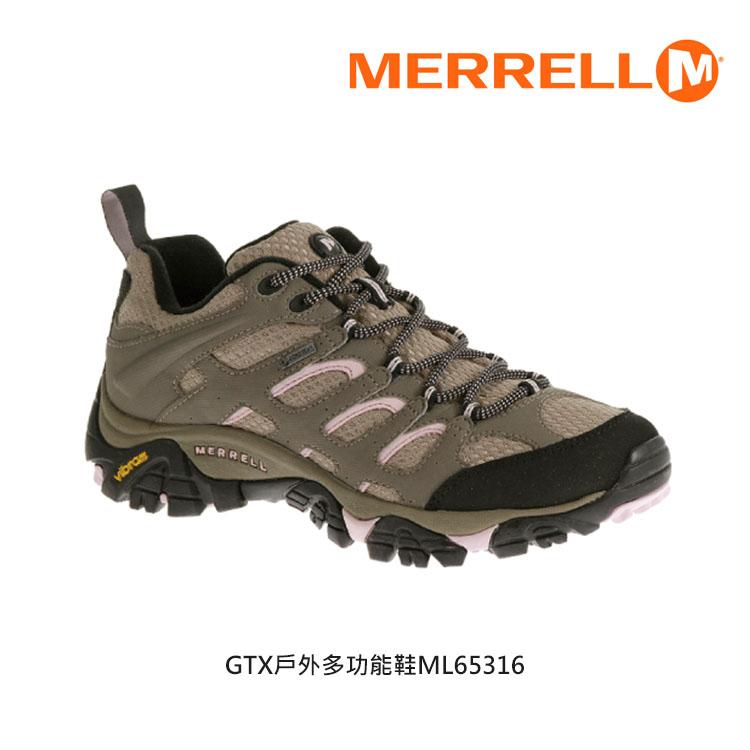 MERRELL 女 GORE-TEX 戶外多功能鞋ML65316 / 城市綠洲 (多功能鞋)