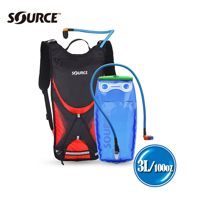 Source BRISK輕量慢跑水袋背包(3L) / 城市綠洲 (路跑、健行、登山)