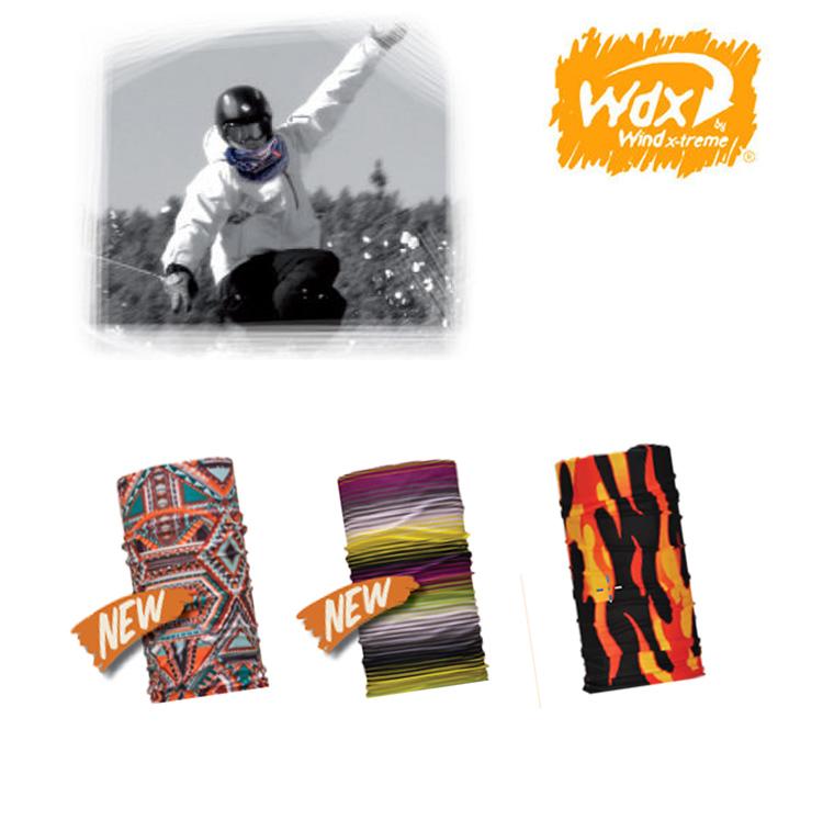 【2016年新款】Wind x-treme 多功能頭巾 Wind/ 城市綠洲(保暖、透氣、圍領巾、西班牙)