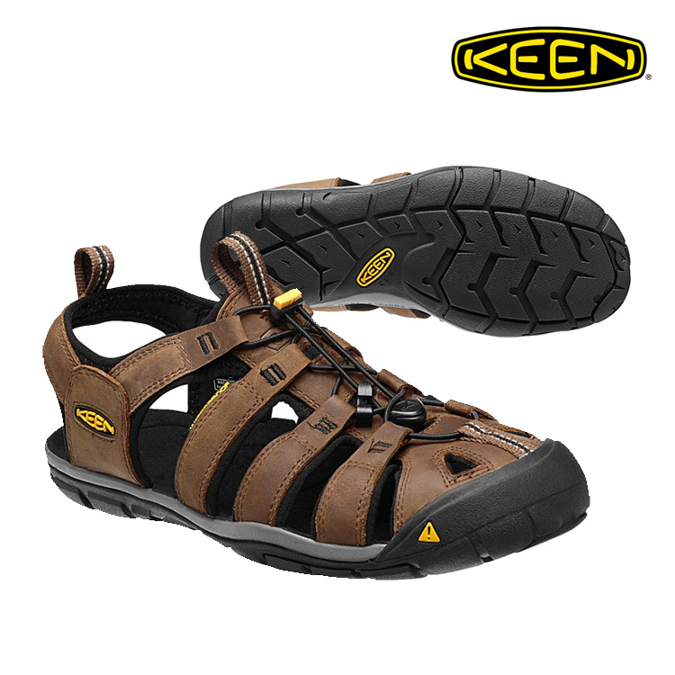 KEEN 織帶涼鞋 Clearwater CNX 1013106《男款》/ 城市綠洲 (拖鞋 運動休閒鞋 健走鞋 輕量鞋 專業戶外護趾涼鞋 水陸兩用 沙灘戲水)