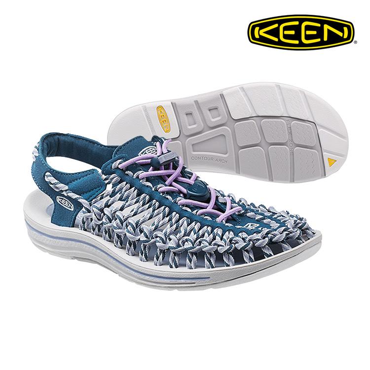 KEEN 織帶涼鞋Uneek 1014631《女款》/ 城市綠洲 (編繩結構,輕量,戶外休閒鞋,運動涼鞋)