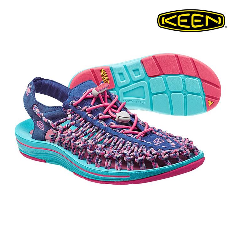 KEEN 織帶涼鞋Uneek 1014720《女款》/ 城市綠洲 (編繩結構,輕量,戶外休閒鞋,運動涼鞋)
