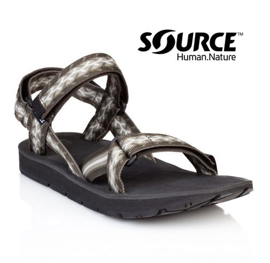 【Source】《男款》越野運動涼鞋Stream 10102169/織帶+一體成型+輕量+快乾+抑菌