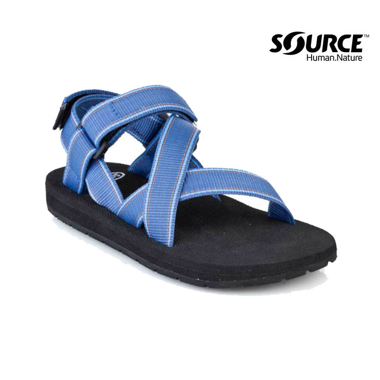 Source 兒童運動涼鞋CrosserKids' 101043B1/織帶+一體成形+輕量+快乾+抑菌(城市綠洲)