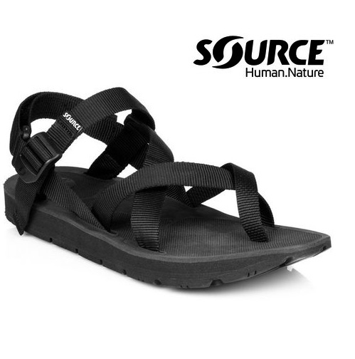 【Source】《中性款》夾腳型越野運動涼鞋Toe Crosser10105100/織帶+一體成型+輕量+快乾+抑菌