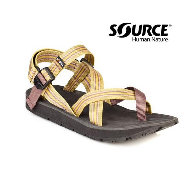 【Source】《男款》夾腳型越野運動涼鞋Toe Crosser10105123/織帶+一體成型+輕量+快乾+抑菌