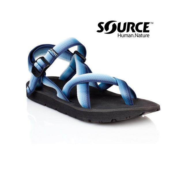 【Source】《男款》夾腳型越野運動涼鞋Toe Crosser101051A1/織帶+一體成型+輕量+快乾+抑菌