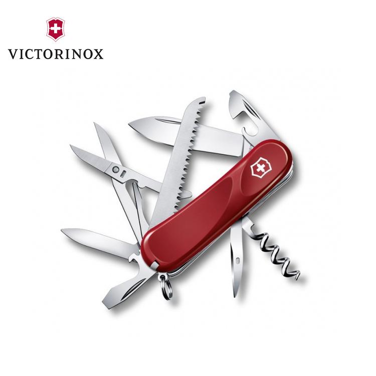 VICTORINOX Evolution 17瑞士刀2.3913.E / 城市綠洲 (多功能.迷你.不鏽鋼.簡易工具.登山.露營.旅遊.居家生活)