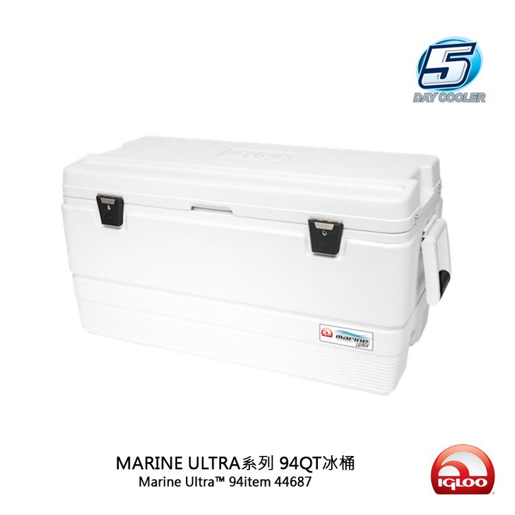 IgLoo MARINE UL系列五日鮮94QT冰桶 44687/城市綠洲(抗UV、露營用品、冰桶、美國冰屋)