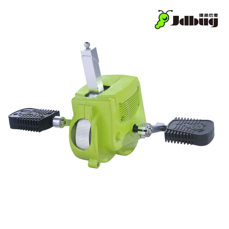 Jdbug 滑步車專用齒輪盒TC04G 綠色 / 城市綠洲 (改裝腳踏車、滑步車、TC04)