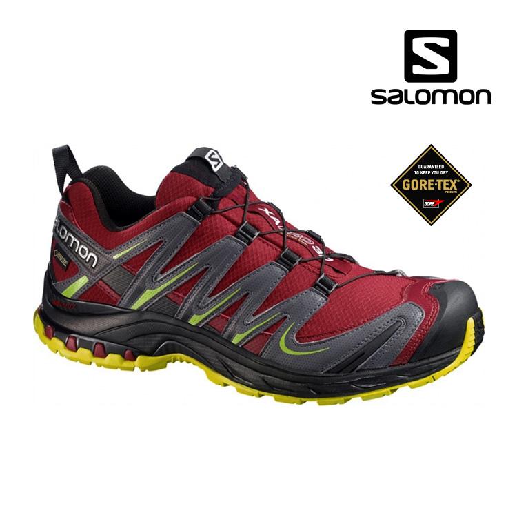 SALOMON 男 GORE-TEX 登山越野鞋366788 / 城市綠洲 (運動鞋、休閒鞋、快速扣鞋帶、Sport、Ortholite)