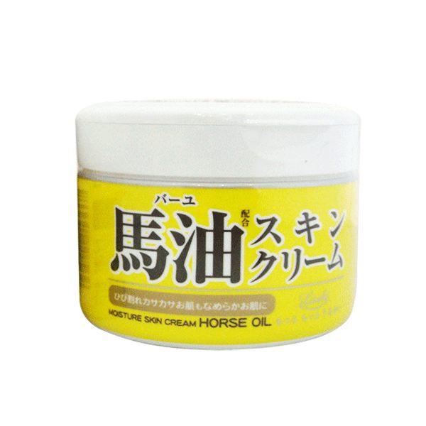 日本北海道 LOSHI 馬油護膚霜 220g《Belle倍莉小舖》