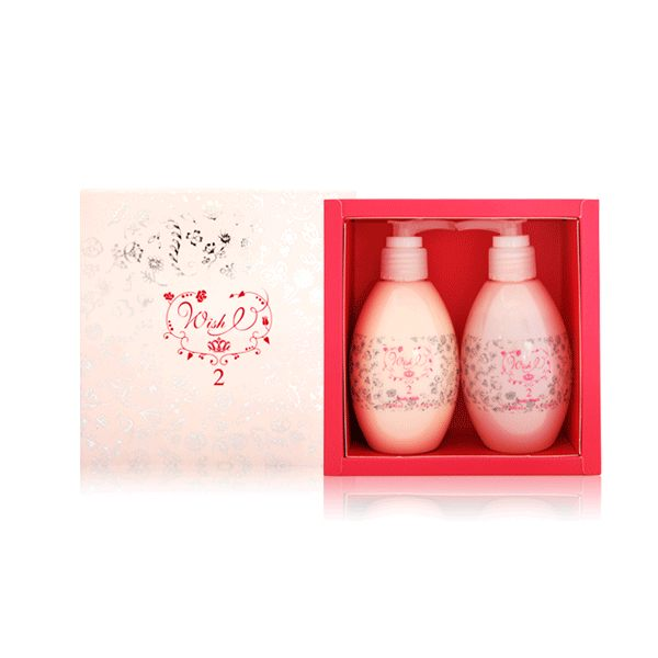Pafait Amour鈴蘭夜之夢Wish I 2 香氛禮盒(沐浴乳200ml+身體乳200ml)《BELLE 倍莉小舖》