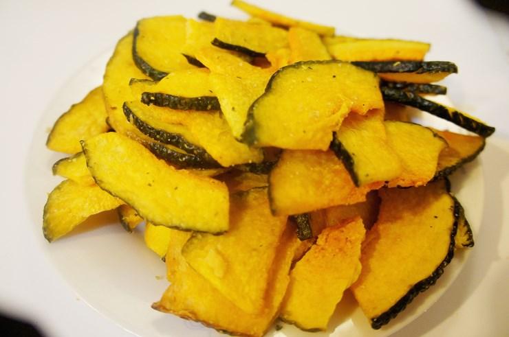 脆樂養生烘焙蔬果乾-南瓜片 (每包約280g)