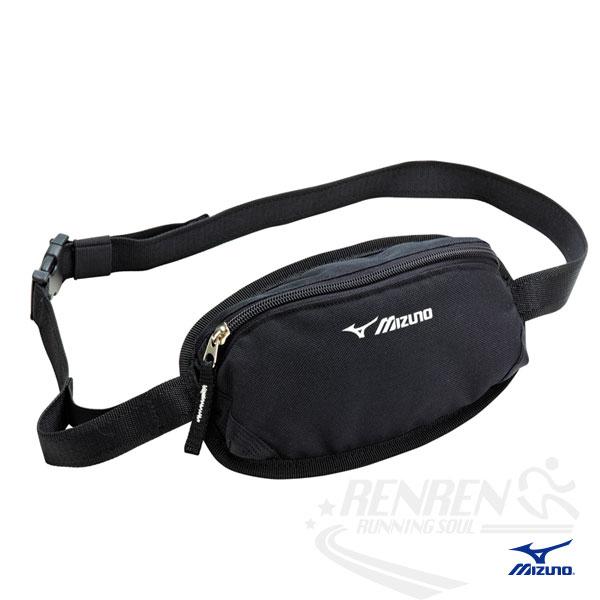 MIZUNO 美津濃 防水運動腰包 2014新款 透氣背網 慢跑 路跑 單車適用 33TM415009