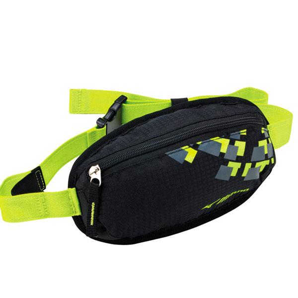 MIZUNO 美津濃 防水運動腰包 2014新款 透氣背網 慢跑 路跑 單車適用 58DA-36493