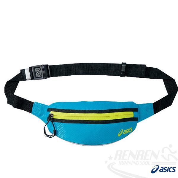 ASICS 亞瑟士防水運動腰包 2014新款 透氣背網 慢跑 路跑 單車適用EBT141-4204