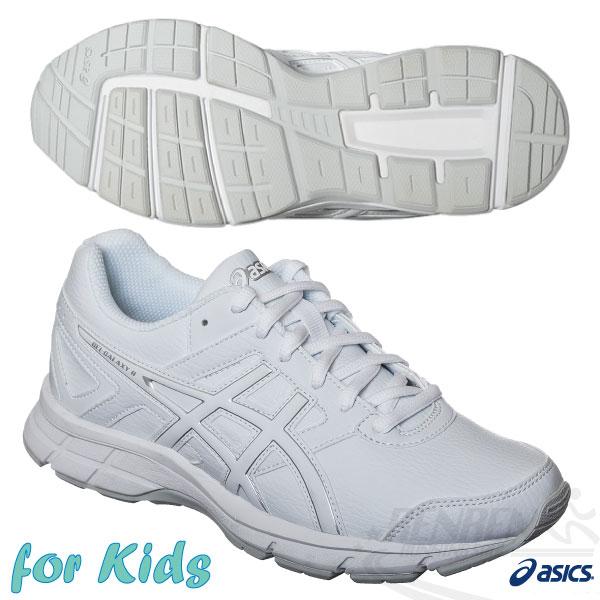 ASICS亞瑟士 兒童慢跑鞋(白) GEL-GALAXY 8 GS SL 學生鞋 童鞋