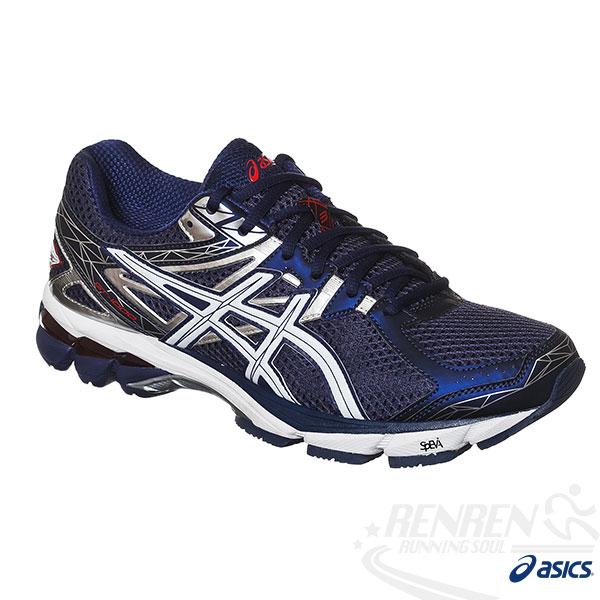 ASICS亞瑟士 GT-1000 3(2E) 男寬楦高支撐慢跑鞋(藍)
