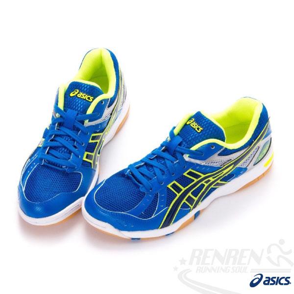 ASICS 亞瑟士 排羽球鞋ROTE RIVRE FL5 (藍*黑) 室內運動排球羽球皆可。 B30YJ-4250