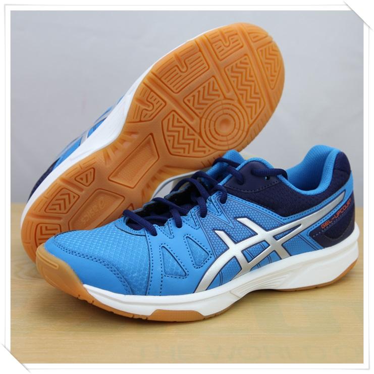 ASICS亞瑟士 排球鞋GEL-UPCOURT(藍) 2014新款排羽球鞋 B400N-4193