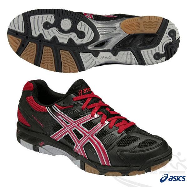 ASICS亞瑟士 排球鞋 LEORD 4(黑*紅) 進階款排羽球鞋 室內球鞋