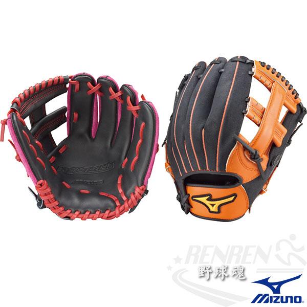 MIZUNO 美津濃 少年用棒壘球手套WILD KIDS通用 1ATGY41000