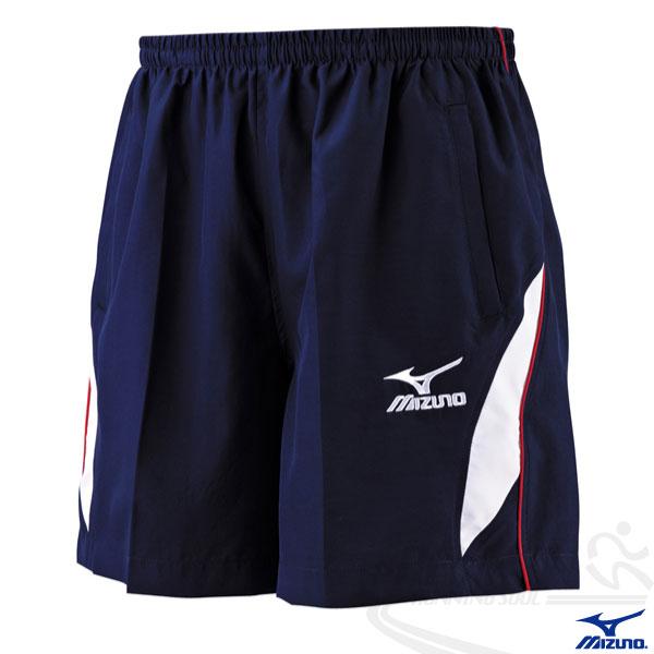 MIZUNO 美津濃 網羽桌褲(丈青) 網球羽球桌球適用運動短褲 吸汗速乾。32TB4A5114
