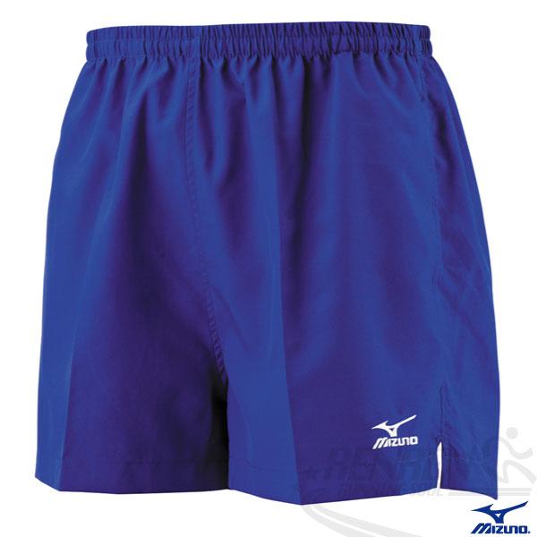 MIZUNO 美津濃 路跑褲(寶藍) 背部口袋 四分運動短褲