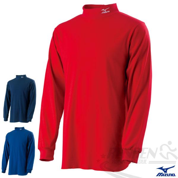 MIZUNO 美津濃棒壘內衣(紅) 棒球內衣 含棉材質 透氣吸汗