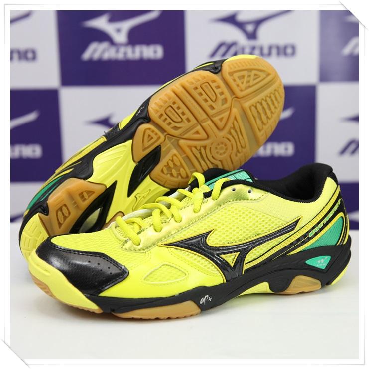 MIZUNO 美津濃 排球鞋 WAVE TWISTER 2(黃*綠) 2014新款 V1GA147006