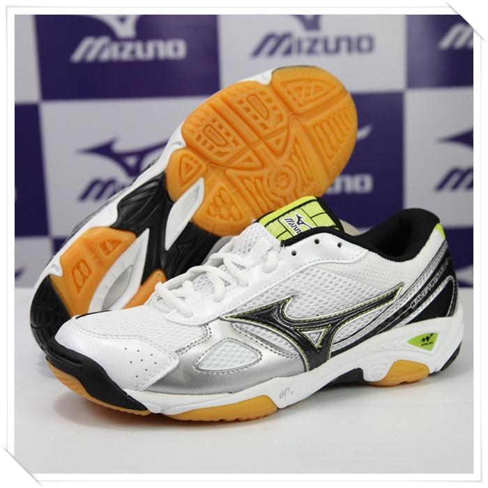 MIZUNO 美津濃 排球鞋 男女同款WAVE TWISTER 2(白*黑) 2014新款 V1GA147009