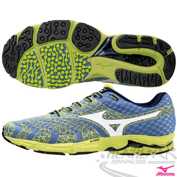 MIZUNO 美津濃 WAVE SAYONARA 2 女慢跑鞋(藍*綠) 2015新款 輕量緩衝 慢跑訓練鞋
