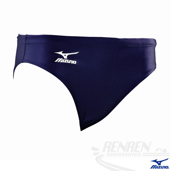 MIZUNO美津濃  BASIC 男三角泳褲。(丈青)85UF-25014
