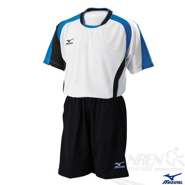 MIZUNO美津濃排球衣(白/XL) 快速排汗速乾,抗UV,亦可做為運動用排汗衣。59SV-15101