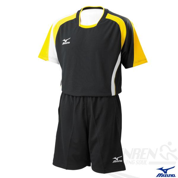 MIZUNO美津濃排球衣(黑/L~2XL) 快速排汗速乾,抗UV,亦可做為運動用排汗衣。59SV-15109