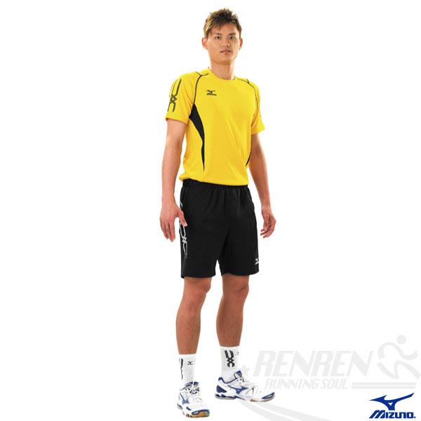 MIZUNO美津濃排球衣(黃XL.3XL) 快速排汗速乾,抗UV,亦可做為運動用排汗衣。59SV-15443