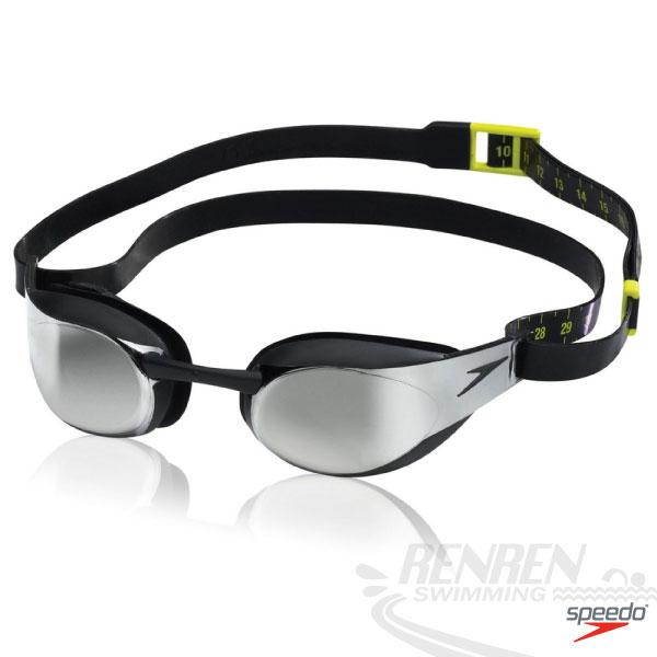SPEEDO 成人競技泳鏡-Fastskin3 Elite(黑)。SD8082148137