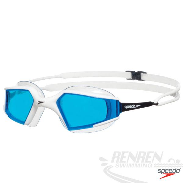 SPEEDO 成人進階泳鏡Aquapulse Max(黑*藍)。SD8088373968