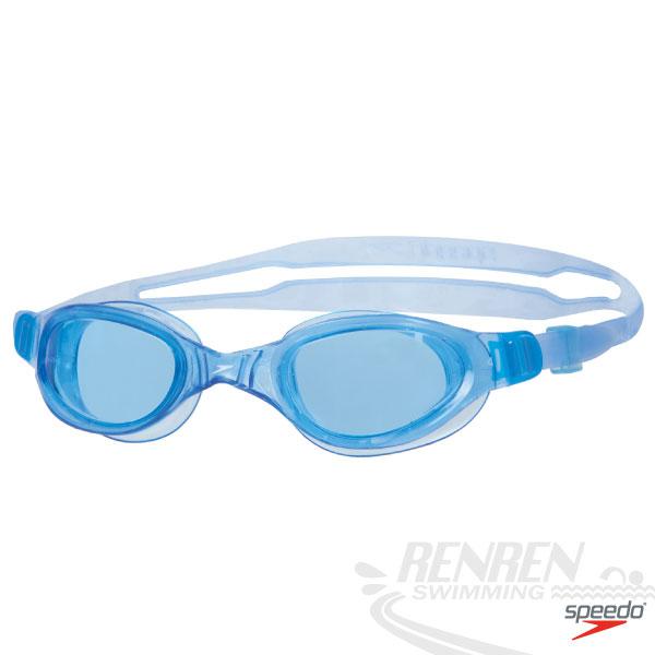 SPEEDO 兒童泳鏡Futura Plus(綠*墨灰/紫*透明/藍*藍三色)。SD809010