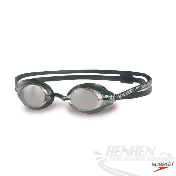 SPEEDO 成人競技泳鏡(銀)SpeedSocket SD8705890002