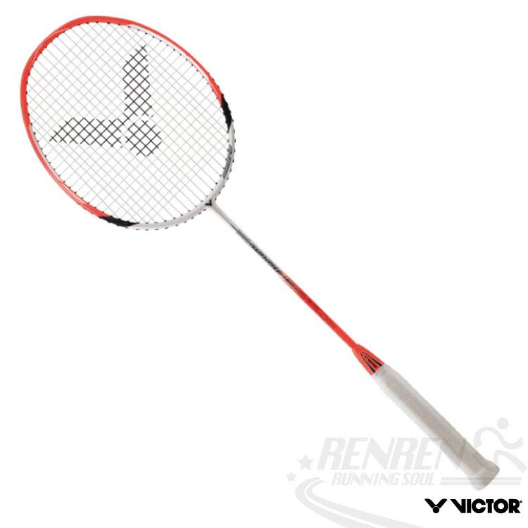 VICTOR勝利 BRAVE SWORD亮劍系列羽球拍(橘) 速度型穿線拍A1-BRS1800O 送球拍袋與握把皮