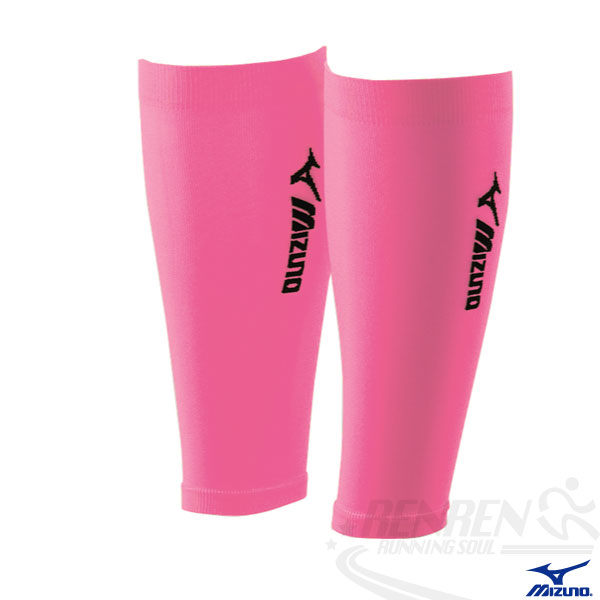 MIZUNO 美津濃 日製BIO GEAR護小腿套(粉紅) 運動 慢跑 長時間站立適用